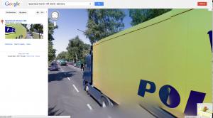 Google Streetview Glitch - Spandauer Damm 164